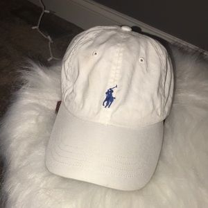 Polo Ralph Lauren white baseball cap